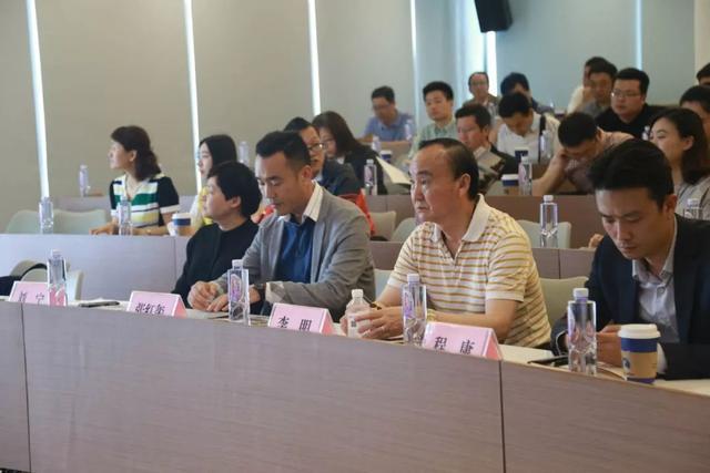 热烈欢迎武汉房地产开发企业协会参观考察越秀财富中心